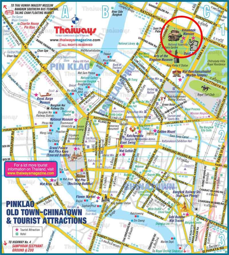 Vimanmek Map