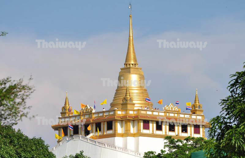 Wat Saket or The Golden Mount