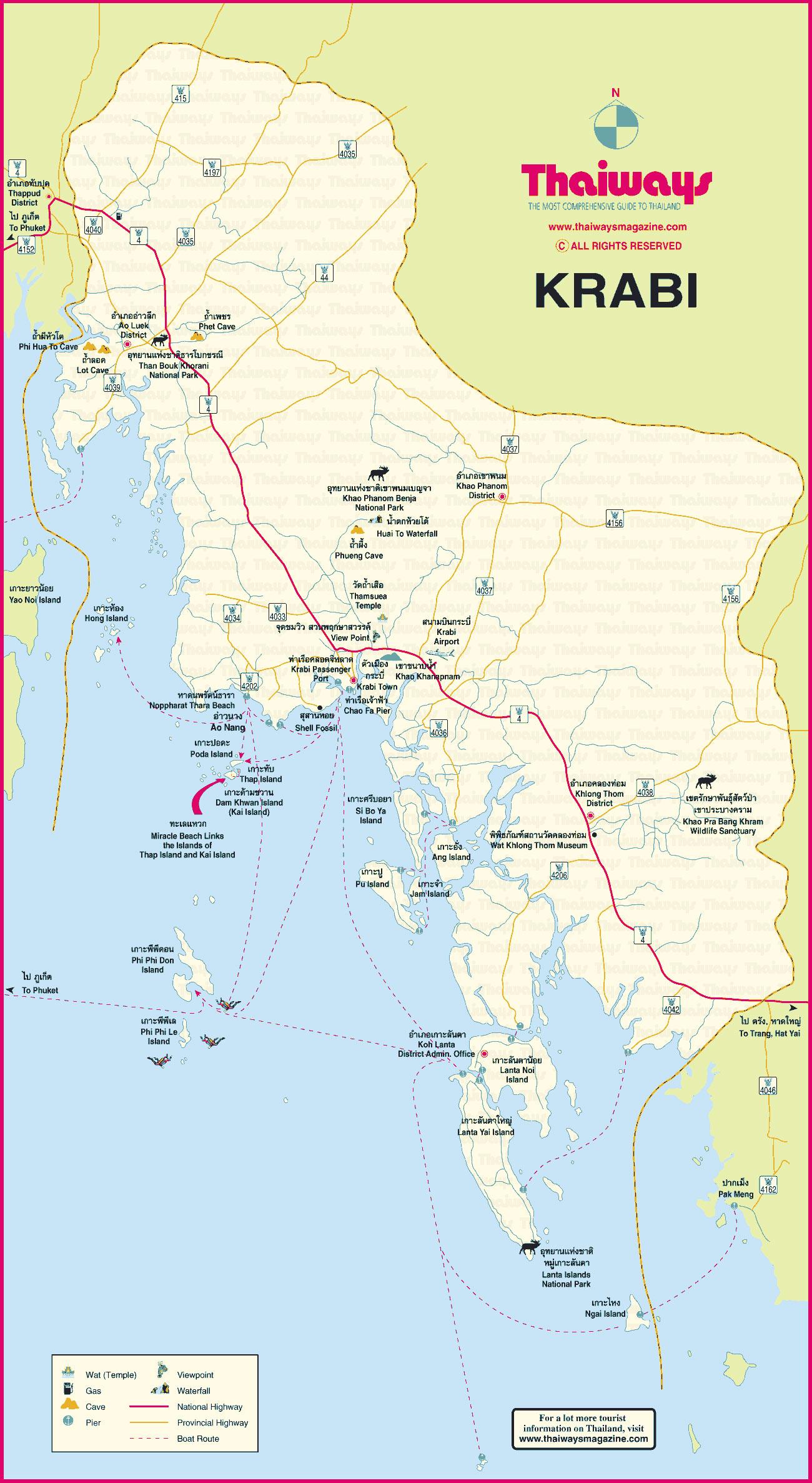 Map-Krabi