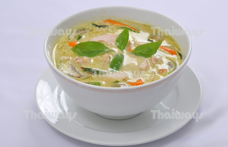 Kaeng Khiao Wan (Green Chicken Curry)